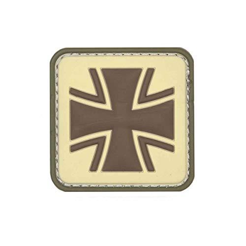 VAN OS Emblem 3D PVC Patch Eisernes Kreuz Bundeswehr Patch Klett Abzeichen Aufnäher Multi