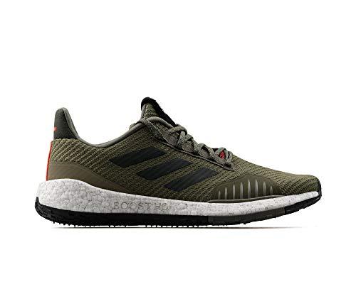 adidas Hombre PulseBOOST HD WNTR m Zapatos para Correr Verde, 42 2/3