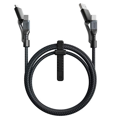 Nomad Kevlar Universal Cable | 1.5 Meters | USB-C (and USB-A) to USB-C (and Micro-USB)