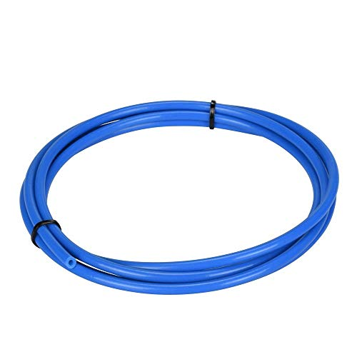 3Dman 2 Meters PTFE Teflon Tube (4.0mm OD/2.0mm ID)1.75mm Filament for 3D Printer (blue)