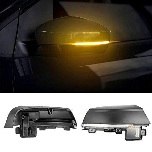 Indicatori di direzione a LED dinamici per VW Polo MK5 Facelift 6C 14-17 6R 09-13 Indicatore auto