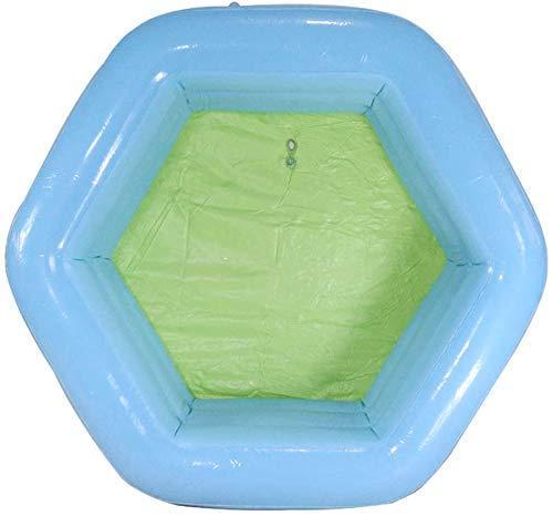 PandaG Folding Babybecken Aufblasbarer Swimmingpool Der Kinder for Erwachsene Und Kinder Schwimmbad Kleinkinder Plastikbecken Aufblasbaren Pool Spielzeug Aufblasbaren Pool 130 * 130 * 50cm