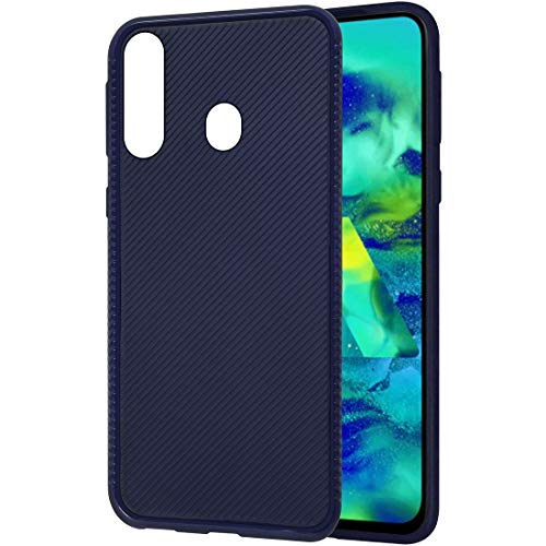 Amazon Brand - Solimo Mobile Cover for Samsung Galaxy M40 (Soft & Flexible Back case), Blue