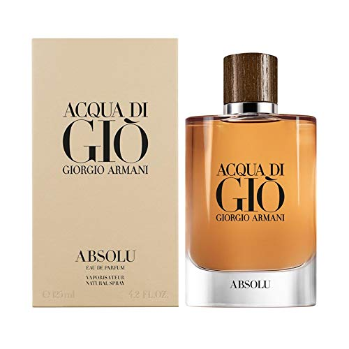 Acqua Di Gio Absolu by Giorgio Armani Eau De Parfum Spray 4.2 oz / 125 ml (Men)