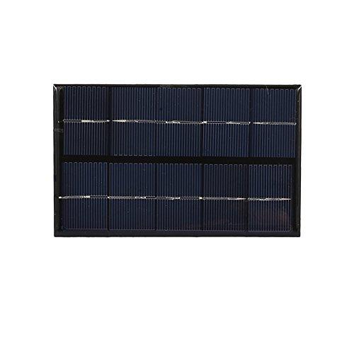 Weituoli USB Panel Solar Generador Portátil 5W 5V Polisilicio Viaje Tablet