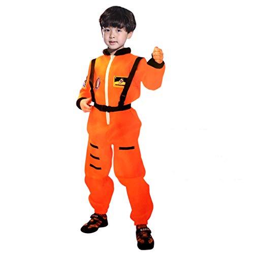 Sayla Baby Jungs Mädchen Winter Bekleidung Kinder Astronauten Kostüm Jumpsuit Dress up Rollenspiel Kostüm für Kinder Jungen Mädchen Cosplay Spaceman Suit Set