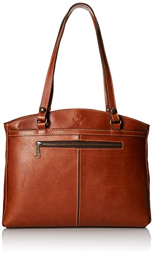 Patricia Nash Poppy Top Zip Tote, Tan