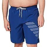 Emporio Armani Swimwear Bermuda Bold Logo Eagle Costume da Bagno, Black, 56 Uomo