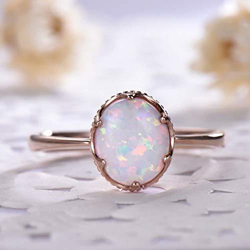 Opal Solitaire Ring,Opal Ring,Opal Solitaire,Oval Opal Ring,White Stone Ring,White Solitaire,Libra Solitaire Ring,Libra Ring,Libra Solitaire