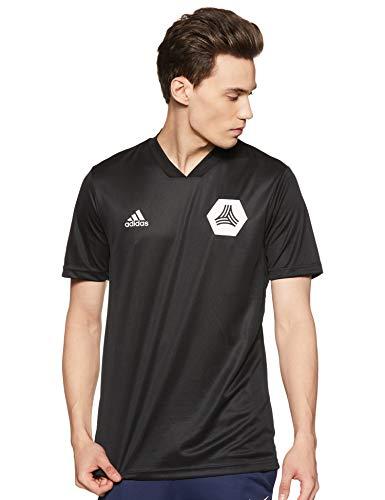 adidas Herren Tan Training Jersey Trainingstrikot, Black, XL