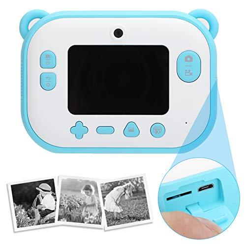 FEBT Cámara Digital, cámara de impresión instantánea de 2,4 Pulgadas, para niños, Regalo, cumpleaños, niñas, Regalo, niños