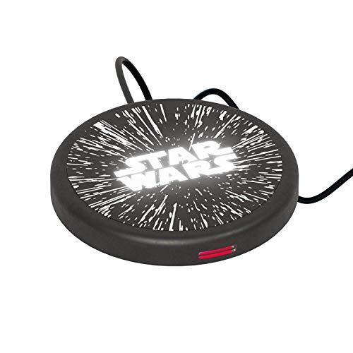 Wireless Charger Star Wars Logo – Caricabatterie senza fili ad induzione magnetica originale Star Wars, Tribe WC103000