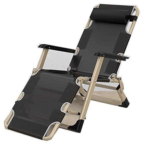 WGFGXQ Folding Recliner,Sun Lounger, Sunbed, Reclining Sun Chair, Lightweight Foldable Patio Beach Garden Camping Recliner Chair, Load Capacity 150Kg for Outdoor Recliner-4