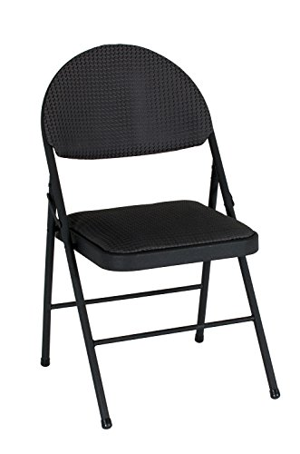 Cosco Comfort Folding Chair, 4 Pack, Times