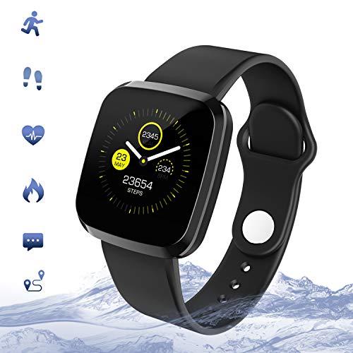 Reloj inteligente Smartwatch, Pulsera de Actividad Pantalla Táctil 1.3″ Reloj Deportivo, Monitor de…