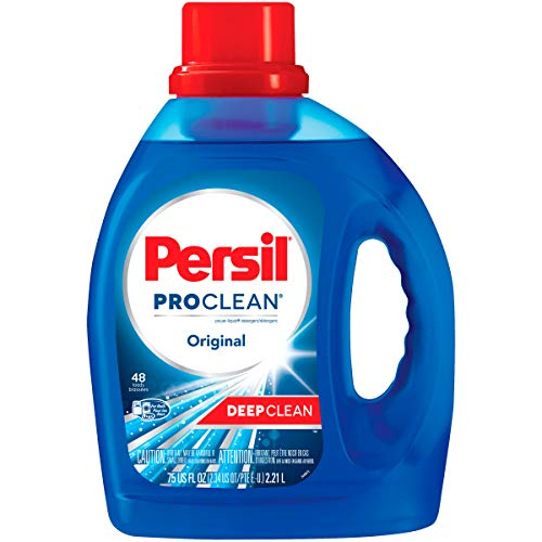 Persil ProClean Power-Liquid Laundry Detergent, Original Scent, 75 Fluid Ounces, 48 Loads