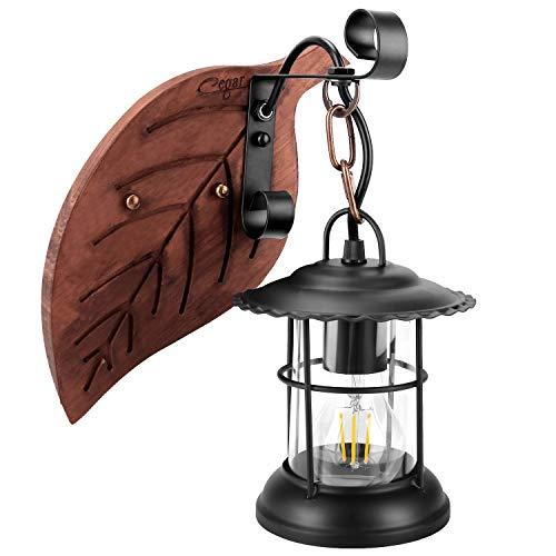 Cegar E27 Industria Lámparas de Pared Loft Madera Retro Cl�