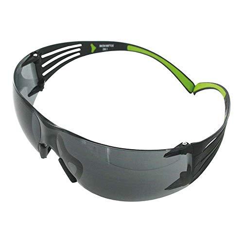 3M, SecureFit 400 UU001467859, veiligheidsbril, zwart, groen