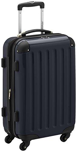 Hauptstadtkoffer Alex Trolley rígido con cierre TSA, 42 litros, 55 x 35 x 20 cm, Negro