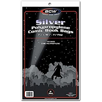 1500 Max Pro Current 6 7//8 X 10 1//2 Modern Comic Book Archival Poly Bags
