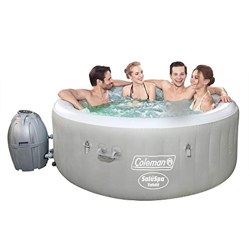 Coleman Saluspa 71 x 26 Tahiti Airjet Hot Tub Spa (Gray) Iowa