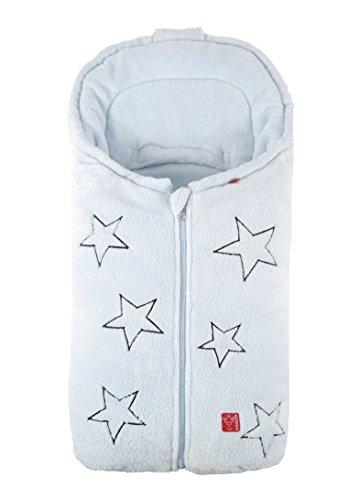Kaiser 6538829 Babyschalenfußsack Stella, hellblau