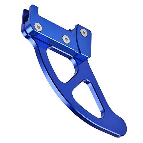 Mszhang Protector de protección del Disco de Freno Trasero/Ajuste para Husqvarna Te FE TX FX FC 125 250 300 350 400 449 450 480 501 2018-2020 TE300 TE250 (Color : Blue)