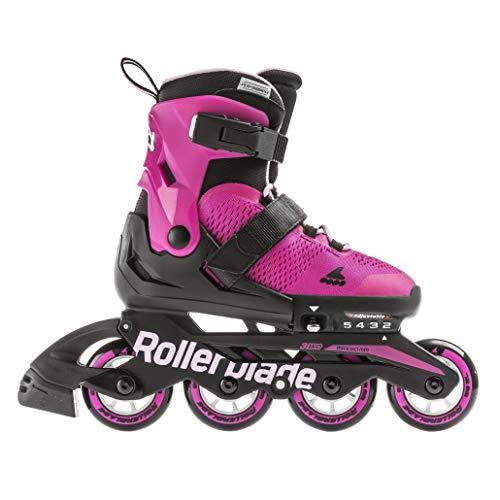 Rollerblade Microblade G, Pattini Bambina, Rosa/Bubblegum, 36,5-40,5