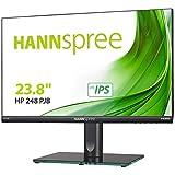 HANNspree HP248PJB 60,45cm (23,8') Full-HD 250cd VGA HDMI DP Lautsprecher VESA Höhenverstellbar Neigbar Schwenkbar Pivot 90°