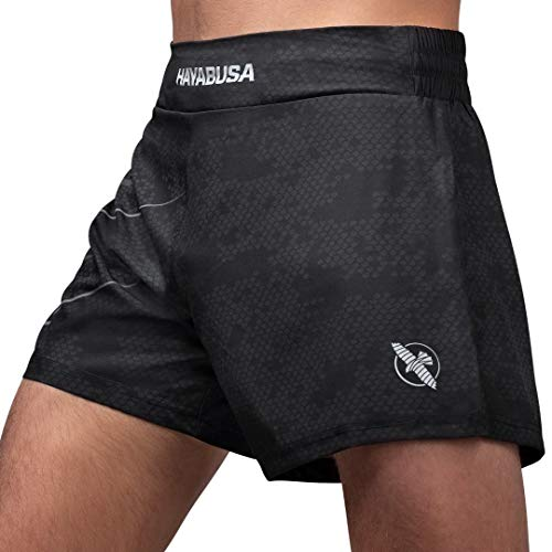 Hayabusa Arrow Kickboxen Shorts, HAY-ARRKB-BL-32, Schwarz , 32W