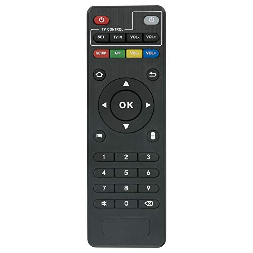 VINABTY Fernbedienung für MXQ Android TV Box MXQ Pro MXQ-Pro MXQ-4K RK3229 MX9 M8 M8C M8N M8S M9C M9C-4K M9C-Mini M10 T95 T95M T95N T95X T95-S1 T95-S2 H96 H96-Pro H96 pro+ (But H96 Plus) X96 X96-MINI
