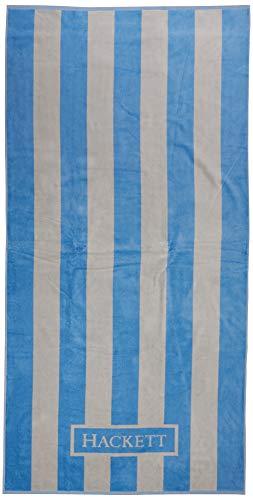 Hackett Bengal Hkt Jqd Tow, Bufanda Hombre, Azul (Sky 513), Talla única