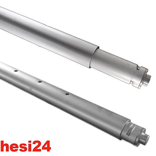 hesi24 Spannstange 1.600 bis 1.970 mm Sperrbalken Sperrstange rund Ladungssicherung 2m