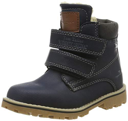 TOM TAILOR Unisex-Kinder 7970501 Klassische Stiefel, Blau (Navy 00003), 31 EU