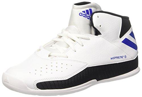 adidas Nxt Lvl SPD V, Zapatillas de Baloncesto Hombre, Blanco (Ftwbla/Reauni/Negbas), 45 1/3 EU