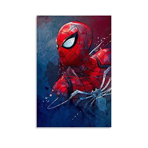 Ghychk Spider-Man Game Webhead - Cuadro moderno para pared, decoración del hogar, decoración de pared para el hogar y la oficina, listo para colgar, 60 x 90 cm