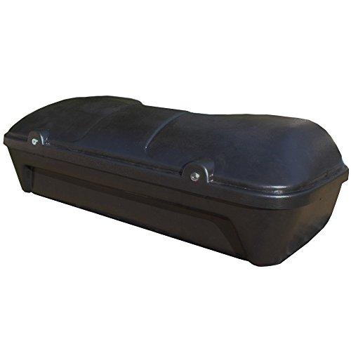Maleta de 130 l Quad - ATV Transporte Universal Bolsa Hecha de plástico, Incluyendo Las cerraduras de Seguridad, Respaldo, Material de instalación
