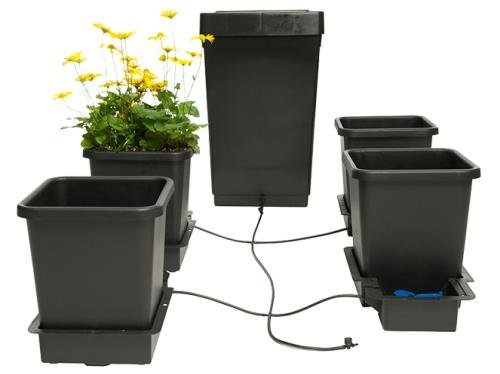 AutoPot 4pot System Gravity Fed Watering System. Hydroponics and Traditional Gardening