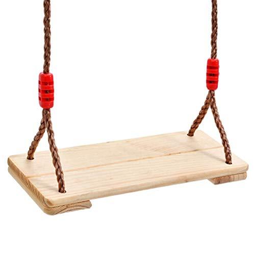 Houten Schommel, Hangende Boomschommels Indoor Outdoor Swing Board Rope Houten Schommelset Voor Kinderen Volwassen Kinderen