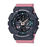 Casio Analog-Digital Black Dial Women's Watch-GMA-S140-4ADR (G984)