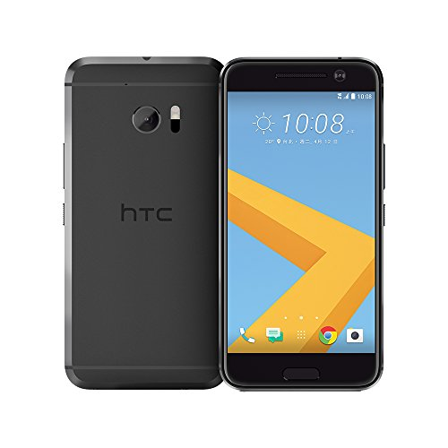 HTC 10 Smartphone (13,2 cm (5,2 Zoll) Super LCD 5 Display, 1440 x 2560 Pixel, 12 Ultrapixel, 64 GB, Android) carbon grau