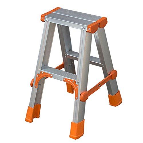 Treppe, Leiter aus Aluminium Schiebeleiter Multifunktionstechnik Leiter, Faltbarer Stabilität und Sicherheit (Size : 2 Step)