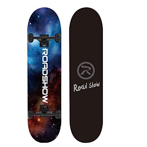 S$S Skateboard, geschikt voor beginners, volwassenen en jongeren, korte pension dubbele schommel scooter 79 x 20 x 10 cm