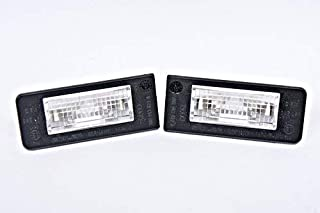 Genuine License Plate Lights With Bulbs PAIR AUDI TT Mk1 1998-2006