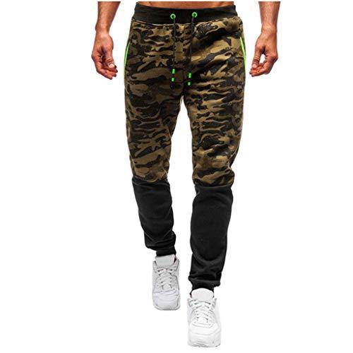 Heren jogger Cargo Chino jeans broek elastische taille lange vrije tijd sportbroek slim fit ruiten joggingbroek Large rood