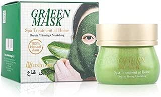 Washami GreenMask with Natural Aloe Vera, Spa Treatment at Home, 160g