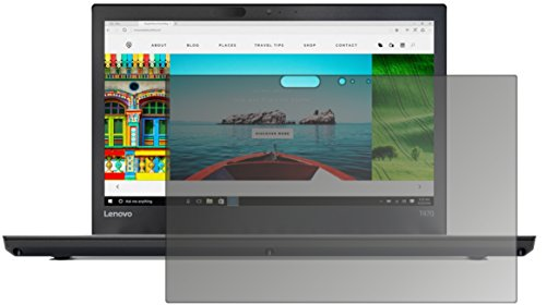 dipos I Blickschutzfolie matt kompatibel mit Lenovo ThinkPad T470 Sichtschutz-Folie Bildschirm-Schutzfolie Privacy-Filter