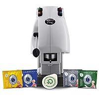 didiesse frog revolution magica emozione pack (macchina da caffè a cialde + 60 capsule), 650 w, bianco