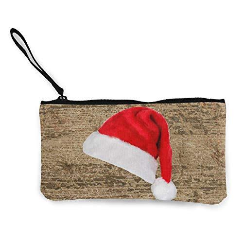 BHGYT Weihnachtsmütze Damen Mädchen Herren Geldwechsel Geldbörse Geldbörse Tasche Reißverschluss Make-up Handytasche
