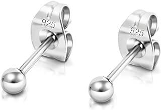Tone argenté cristal brillant boucles d/'oreilles créoles plusieurs tailles